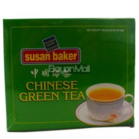 Susan Baker Chinese Green Tea  100g
